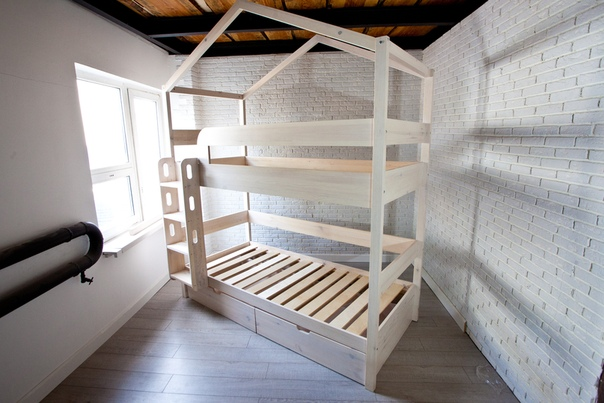 Кровать двухъярусная «Бэби Лодж»