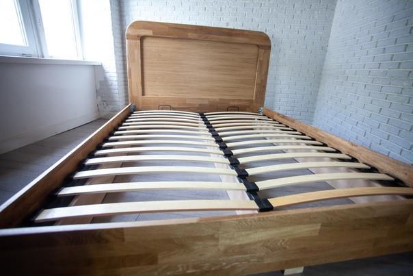Кровать из массива Дуба «Кипдосс»