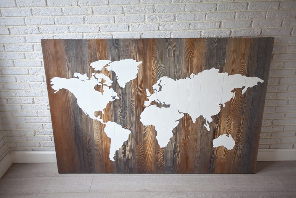 Деревянное панно «Мэп»